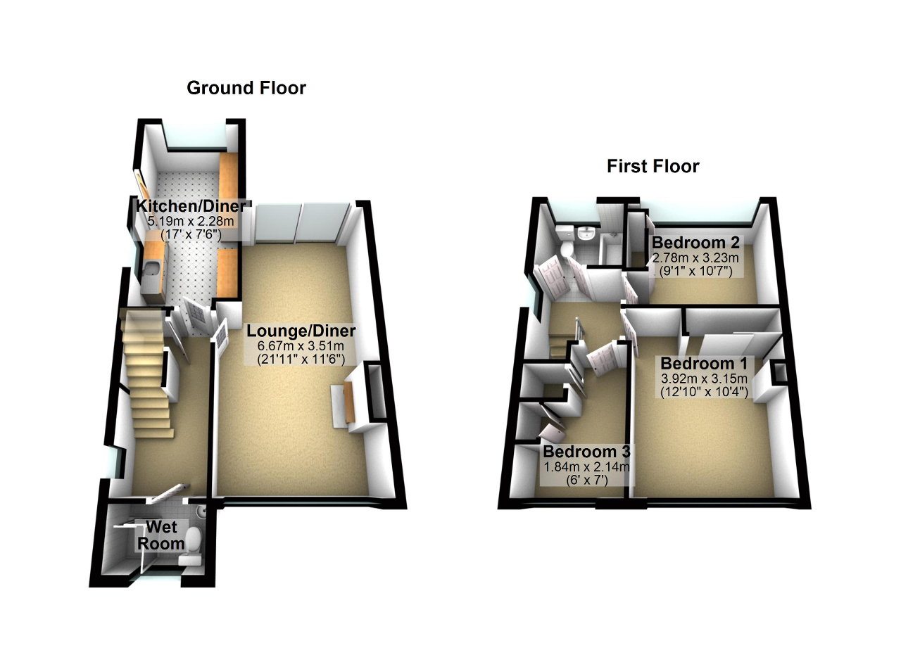 Floorplan of Cromwell Road, Irlam, Manchester, M44 5AB